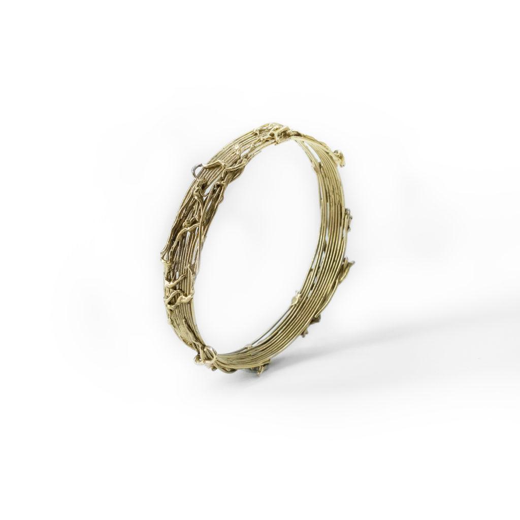 Intreccio bronze bracelet