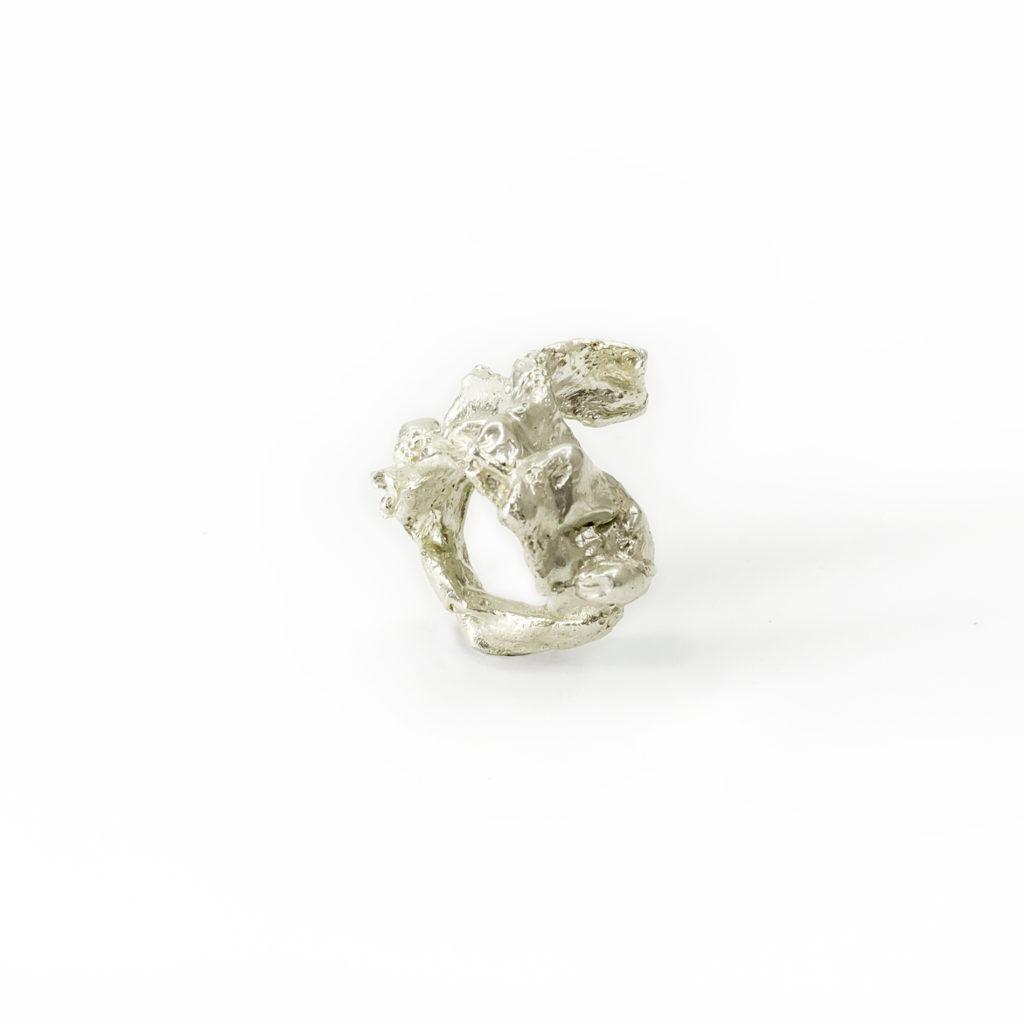 Nodo ring silver